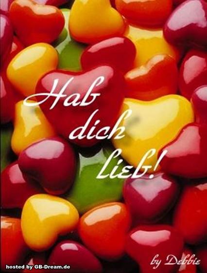 Hab Dich lieb Pinnwand Bilder,GB Pics,Gaestebuchbild Hab Dich lieb ...