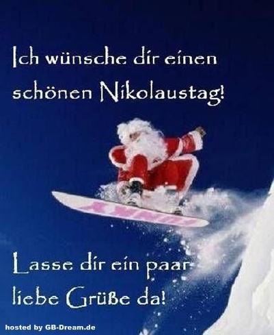 Guten Morgen Nikolaustag