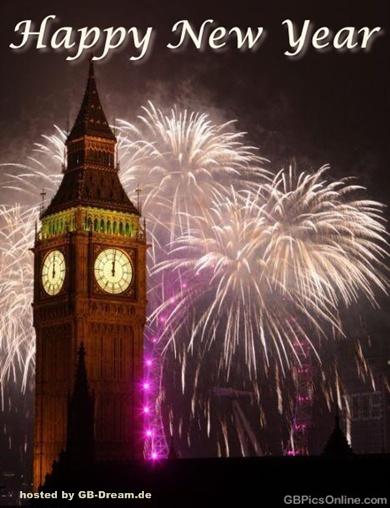 Frohes neues Jahr Pinnwand Bilder,GB Pics,Neujahrsgrüsse Facebook ...
