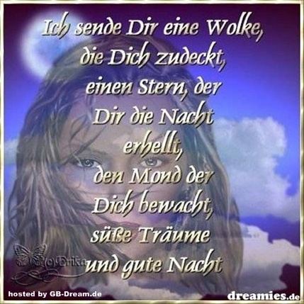 GB Pic Gute Nacht Gruesse