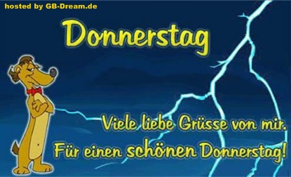 Donnerstagsgruesse GB Pic