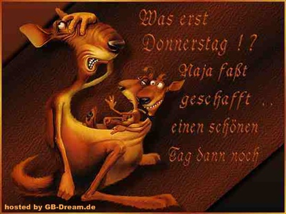 GBPic Donnerstagsgruesse