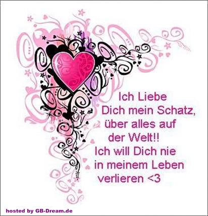 I love you GB Bild
