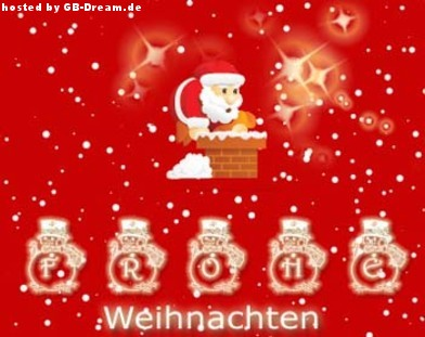 Frohe Weihnacht GBPic