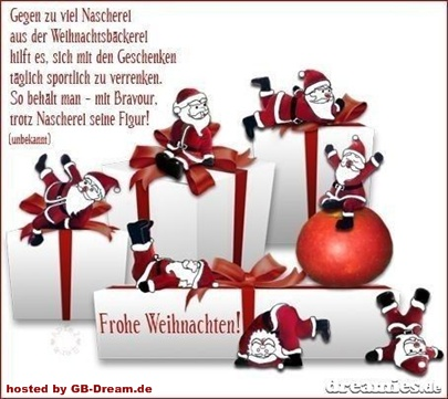 GB Frohes Weihnachtsfest