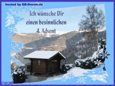 4. Adventsgrüsse