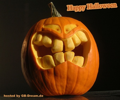 Happy Halloween GB Bild
